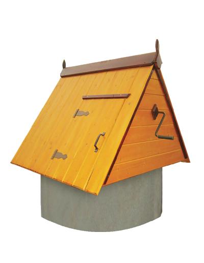 домик для колодца из дерева ДК1.1