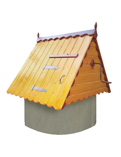 домик для колодца из дерева ДК1.2
