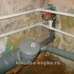 Точки слива канализации в доме