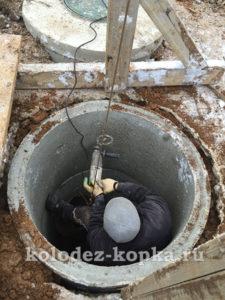 Сверление отверстий для труб