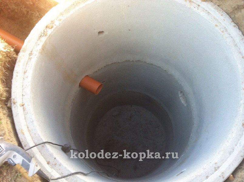 Септик из колец Сергиев-Посадский район