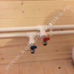 провести водопровод для дачи под ключ