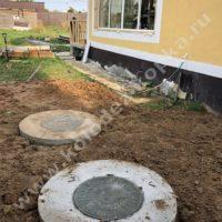 септики из бетонных колец для дачи
