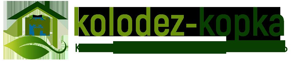 логотип колодец копка
