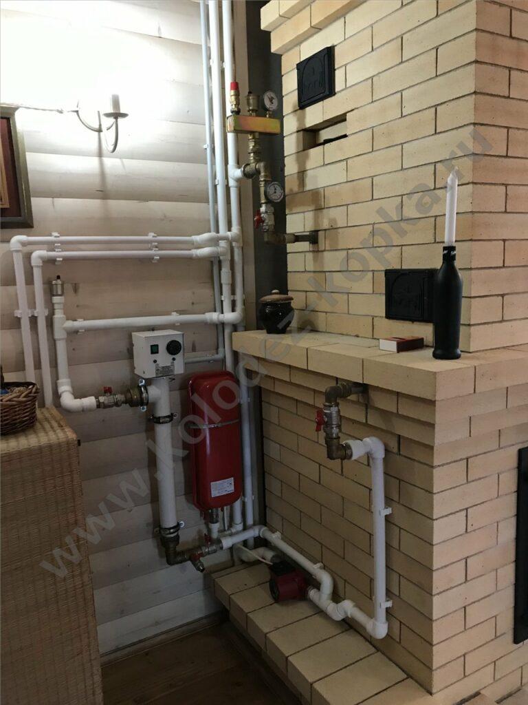 отопление для дачи монтаж под ключ