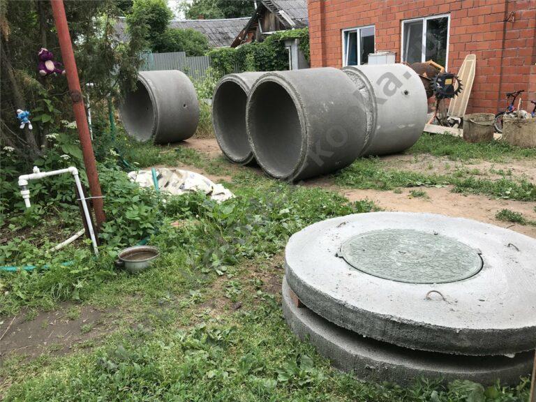 люк для бетонного септика цена