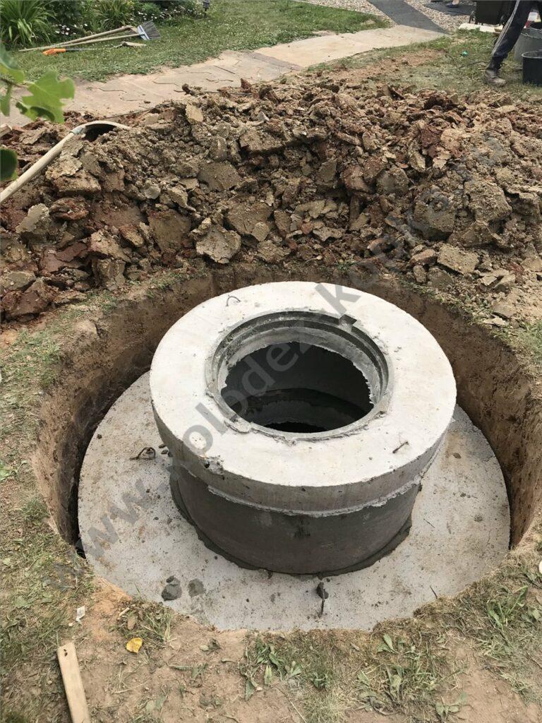 люк бетонный для септика монтаж 2019