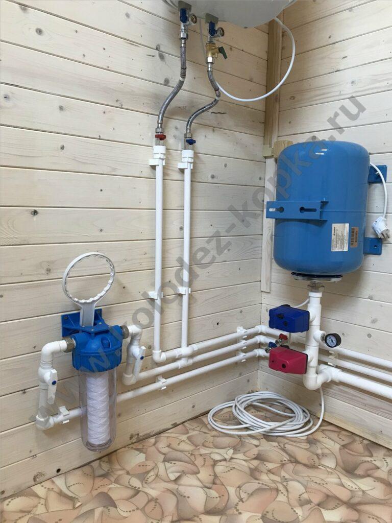 водоснабжение дачи цена под ключ