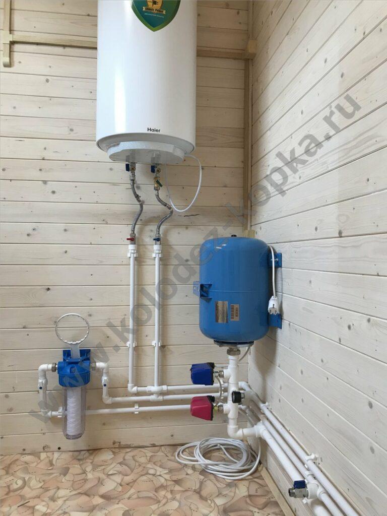 водоснабжение дачи под ключ ноябрь 2019