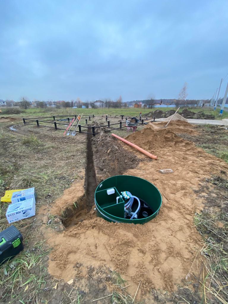 Септик ЕВРОЛОС - установка в Сергиево-Посадском районе