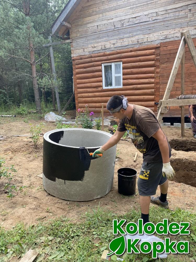 Копка колодца Щелковский район